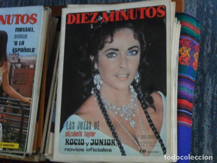 Coleccionismo de Revista Diez Minutos: LOTE 202 REVISTAS DIEZ MINUTOS DESDE Nº 871 A 1298 DE 1967 A 1976 MÁS 2 DE 1982 BUEN ESTADO GENERAL. - Foto 8 - 170015716