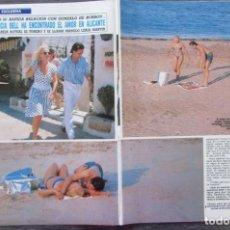 Coleccionismo de Revista Diez Minutos: RECORTE REVISTA DIEZ MINUTOS Nº 1923 1988 MARCIA BELL 3 PGS. Lote 170197608