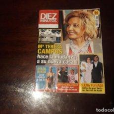 Coleccionismo de Revista Diez Minutos: REVISTA DIEZ MINUTOS Nº 3225 - MARIA TERESA CAMPOS - BELEN RUEDA - ELENA FURIASE. Lote 171102060