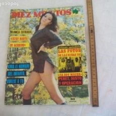 Coleccionismo de Revista Diez Minutos: REVISTA DIEZ MINUTOS NUM. Nº 1242 1975. KIKO LEDGRAND BLANCA ESTRADA, CAMILO SESTO,POSTER LOS OSMOND. Lote 171462877