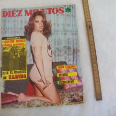 Coleccionismo de Revista Diez Minutos: REVISTA DIEZ MINUTOS NUM. Nº 1259 1975.KARINA FOFITO LA POLACA MARIA ASQUERINO TONY LUZ POSTER IÑIGO. Lote 171463027
