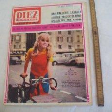 Coleccionismo de Revista Diez Minutos: REVISTA DIEZ MINUTOS NUM. Nº 793 1966. LAURA ULMER-LAURA VALENZUELA.. Lote 171463227