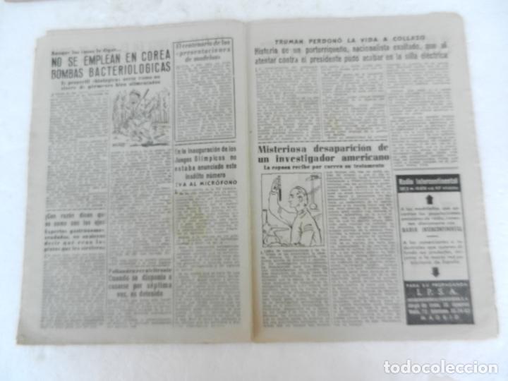 Coleccionismo de Revista Diez Minutos: REVISTA DIEZ MINUTO Nº 49 AGOSTO 1952. EN ESTE NÚMERO: MUERTE DE EVA PERÓN, FARUK I ABANDONA EGIPTO. - Foto 4 - 172317400