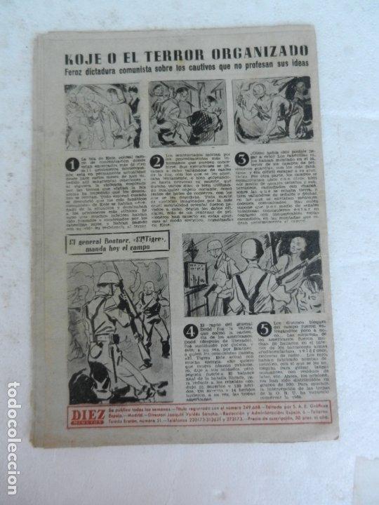 Coleccionismo de Revista Diez Minutos: REVISTA DIEZ MINUTO Nº 49 AGOSTO 1952. EN ESTE NÚMERO: MUERTE DE EVA PERÓN, FARUK I ABANDONA EGIPTO. - Foto 5 - 172317400