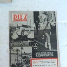 Coleccionismo de Revista Diez Minutos: REVISTA DIEZ MINUTO Nº 54 SEPTIEMBRE 1952. EN ESTE NÚMERO: LOURDES EN LAS CERCANÍAS DE ROMA.... Lote 172317772
