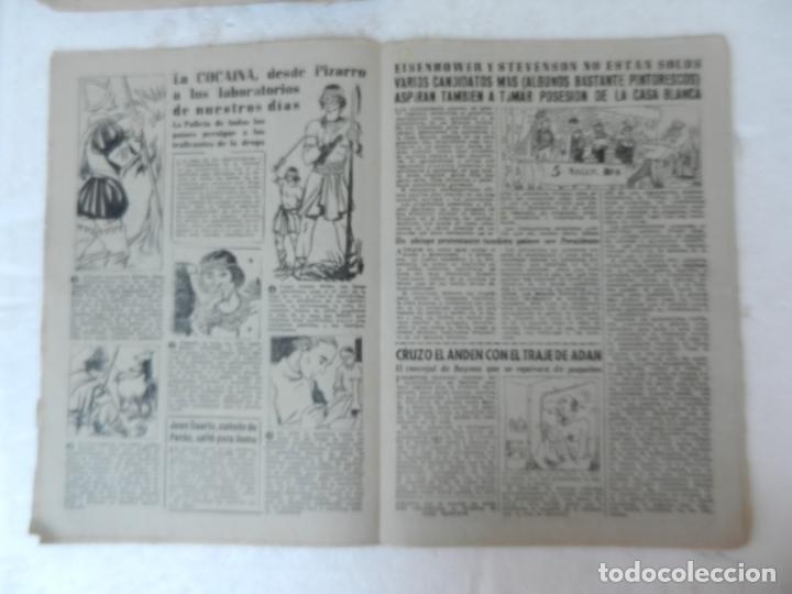 Coleccionismo de Revista Diez Minutos: REVISTA DIEZ MINUTO Nº 58 OCTUBRE 1952. EN ESTE NÚMERO: SUBMARINO SIBILA, CHARLOT VUELVE A LONDRES.. - Foto 3 - 172317979