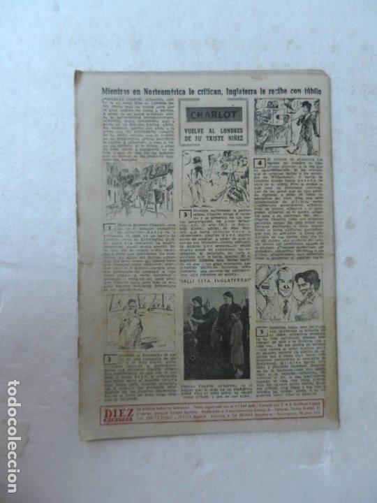 Coleccionismo de Revista Diez Minutos: REVISTA DIEZ MINUTO Nº 58 OCTUBRE 1952. EN ESTE NÚMERO: SUBMARINO SIBILA, CHARLOT VUELVE A LONDRES.. - Foto 4 - 172317979