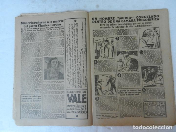 Coleccionismo de Revista Diez Minutos: REVISTA DIEZ MINUTOS Nº 72 ENERO 1953. EN ESTE NÚMERO: NAUFRAGIO DE UN BUQUE, NIÑA DE MANRESA... - Foto 3 - 172335990