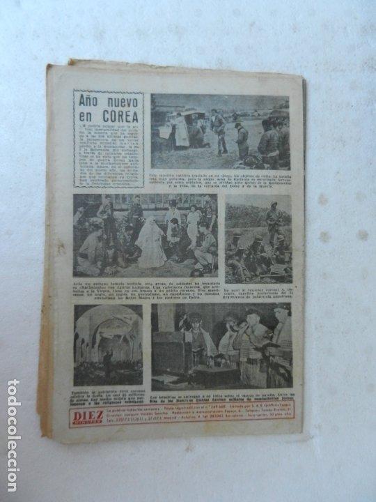 Coleccionismo de Revista Diez Minutos: REVISTA DIEZ MINUTOS Nº 72 ENERO 1953. EN ESTE NÚMERO: NAUFRAGIO DE UN BUQUE, NIÑA DE MANRESA... - Foto 4 - 172335990