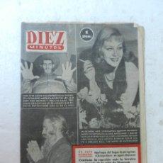 Coleccionismo de Revista Diez Minutos: REVISTA DIEZ MINUTOS Nº 72 ENERO 1953. EN ESTE NÚMERO: NAUFRAGIO DE UN BUQUE, NIÑA DE MANRESA.... Lote 172335990