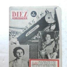 Coleccionismo de Revista Diez Minutos: REVISTA DIEZ MINUTOS Nº 81 MARZO 1953. EN ESTE NÚMERO: LUCHA DECISIVA POR EL PODER EN RUSIA..... Lote 172342920