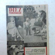Coleccionismo de Revista Diez Minutos: REVISTA DIEZ MINUTOS Nº 87 ABRIL 1953. EN ESTE NÚMERO: TRÁGICOS SUCESOS EN BUENOS AIRES, ARTISTAS ... Lote 172346393