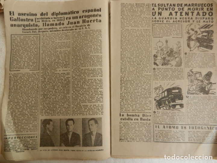 Coleccionismo de Revista Diez Minutos: REVISTA DIEZ MINUTOS Nº 108 SEPTIEMBRE 1953. EN ESTE NÚMERO: ZSA-ZSA GABOR Y DANIE GELIN..... - Foto 3 - 173508924