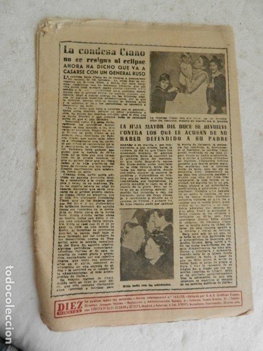 Coleccionismo de Revista Diez Minutos: REVISTA DIEZ MINUTOS Nº 108 SEPTIEMBRE 1953. EN ESTE NÚMERO: ZSA-ZSA GABOR Y DANIE GELIN..... - Foto 4 - 173508924