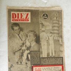 Coleccionismo de Revista Diez Minutos: REVISTA DIEZ MINUTOS Nº 108 SEPTIEMBRE 1953. EN ESTE NÚMERO: ZSA-ZSA GABOR Y DANIE GELIN...... Lote 173508924