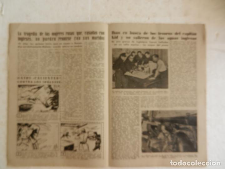 Coleccionismo de Revista Diez Minutos: REVISTA DIEZ MINUTOS Nº 14 DICIEMBRE 1951. EN ESTE NÚMERO: EL MISTERIO DE PONTECORVO... - Foto 3 - 173529240