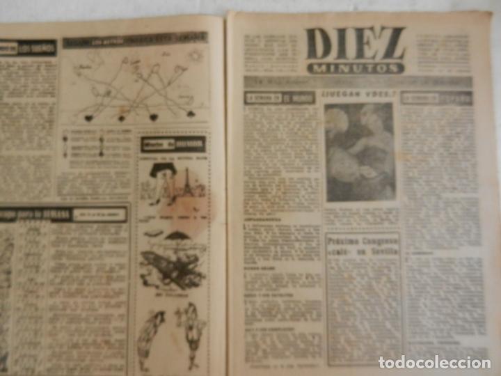 Coleccionismo de Revista Diez Minutos: REVISTA DIEZ MINUTOS Nº 112 OCTUBRE 1953. EN ESTE NÚMERO: EL CIRCO ESPAÑOL HA LLEGADO A COLONIA... - Foto 2 - 173529302