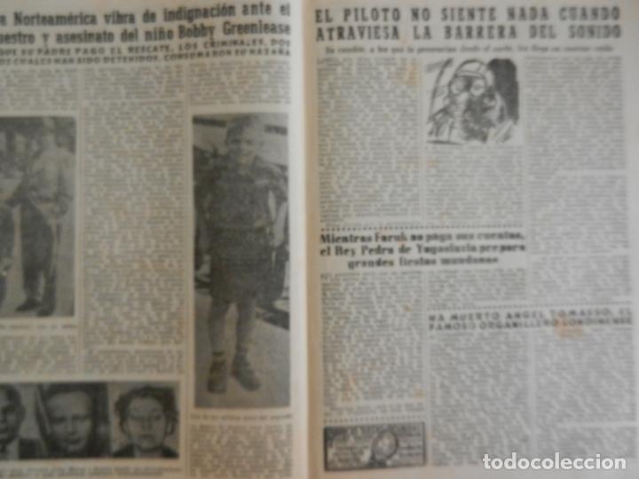 Coleccionismo de Revista Diez Minutos: REVISTA DIEZ MINUTOS Nº 112 OCTUBRE 1953. EN ESTE NÚMERO: EL CIRCO ESPAÑOL HA LLEGADO A COLONIA... - Foto 3 - 173529302