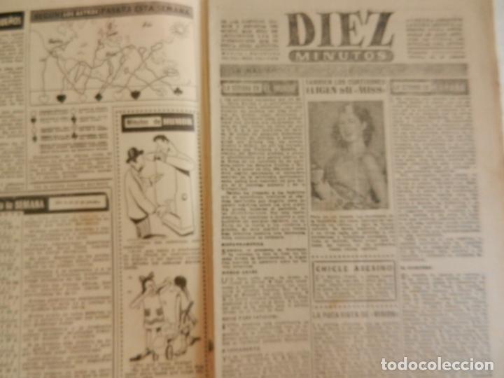 Coleccionismo de Revista Diez Minutos: REVISTA DIEZ MINUTOS Nº 111 OCTUBRE 1953. EN ESTE NÚMERO: GISELA PASCAL, LA BELLA EX- PROMETIDA.... - Foto 2 - 173529544