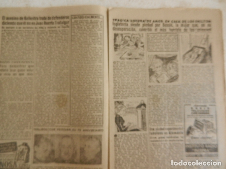 Coleccionismo de Revista Diez Minutos: REVISTA DIEZ MINUTOS Nº 111 OCTUBRE 1953. EN ESTE NÚMERO: GISELA PASCAL, LA BELLA EX- PROMETIDA.... - Foto 3 - 173529544