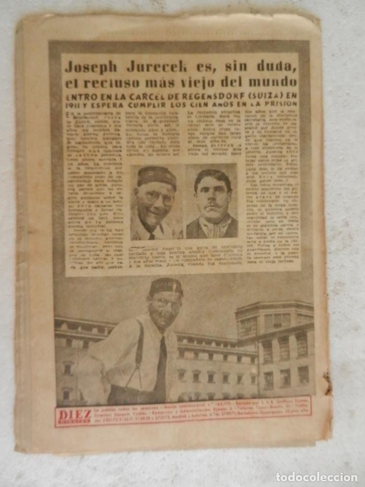 Coleccionismo de Revista Diez Minutos: REVISTA DIEZ MINUTOS Nº 111 OCTUBRE 1953. EN ESTE NÚMERO: GISELA PASCAL, LA BELLA EX- PROMETIDA.... - Foto 4 - 173529544