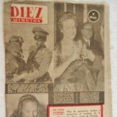Coleccionismo de Revista Diez Minutos: REVISTA DIEZ MINUTOS Nº 111 OCTUBRE 1953. EN ESTE NÚMERO: GISELA PASCAL, LA BELLA EX- PROMETIDA..... Lote 173529544