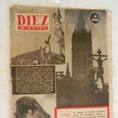 Coleccionismo de Revista Diez Minutos: REVISTA DIEZ MINUTOS Nº 83 MARZO 1953. EN ESTE NÚMERO: TERREMOTO EN TURQUÍA.... Lote 173529908