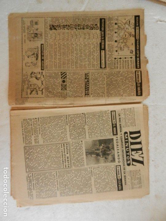 Coleccionismo de Revista Diez Minutos: REVISTA DIEZ MINUTOS Nº 262 SEPTIEMBRE 1956. EN ESTE NÚMERO: UNA SECUESTRADORA EN EL CAIRO VENDIA .. - Foto 3 - 173530044