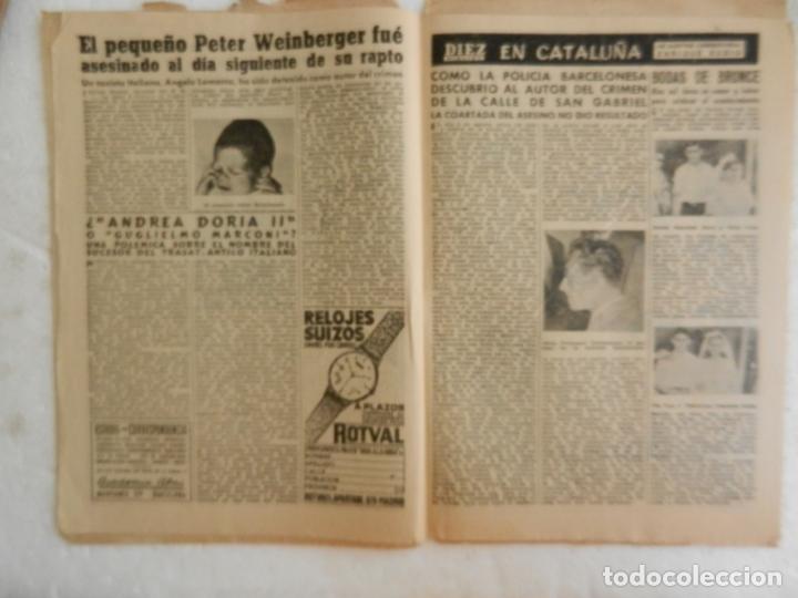 Coleccionismo de Revista Diez Minutos: REVISTA DIEZ MINUTOS Nº 262 SEPTIEMBRE 1956. EN ESTE NÚMERO: UNA SECUESTRADORA EN EL CAIRO VENDIA .. - Foto 4 - 173530044