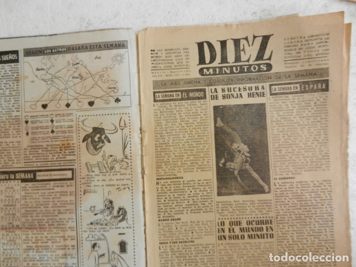 Coleccionismo de Revista Diez Minutos: REVISTA DIEZ MINUTOS Nº 117 NOVIEMBRE 1953. EN ESTE NÚMERO: PÁRIS EN VÍSPERAS DE INVIERNO.... - Foto 2 - 173530572