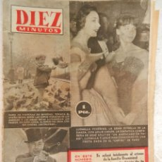 Coleccionismo de Revista Diez Minutos: REVISTA DIEZ MINUTOS Nº 117 NOVIEMBRE 1953. EN ESTE NÚMERO: PÁRIS EN VÍSPERAS DE INVIERNO..... Lote 173530572