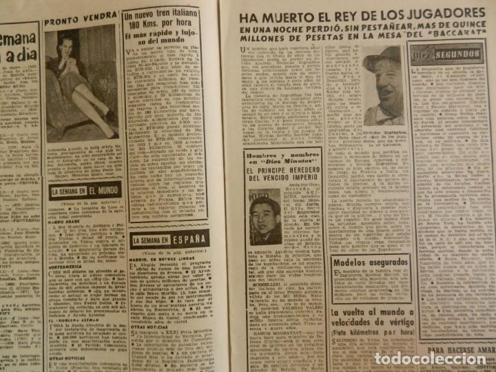 Coleccionismo de Revista Diez Minutos: REVISTA DIEZ MINUTOS Nº 89 MAYO 1953. EN ESTE NÚMERO: CONGRESO EUCARÍSTICO DE SYDNEY..... - Foto 3 - 173530679