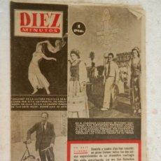 Coleccionismo de Revista Diez Minutos: REVISTA DIEZ MINUTOS Nº 89 MAYO 1953. EN ESTE NÚMERO: CONGRESO EUCARÍSTICO DE SYDNEY...... Lote 173530679