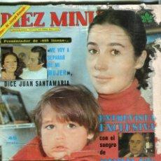 Coleccionismo de Revista Diez Minutos: DIEZ MINUTOS Nº 1378-SERRAT BODA.5 PAG 16 FOT- MAYRA KEMP 4 PAG 14 FOT -RAFAELLA CARRAG 4 FOT.-1978. Lote 174470327