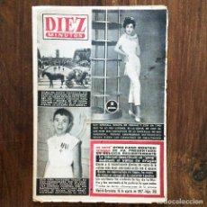 Coleccionismo de Revista Diez Minutos: DIEZ MINUTOS REVISTA - NÚMERO 312 - AGOSTO 1957. Lote 174482793