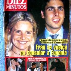 Coleccionismo de Revista Diez Minutos: REVISTA DIEZ MINUTOS - FRAN RIVERA, EUGENIA MARTINEZ DE IRUJO - VICTORIA ABRIL, ISABEL PREYSLER 1998. Lote 174493487
