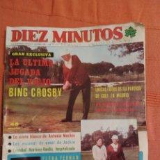 Coleccionismo de Revista Diez Minutos: REVISTA DIEZ MINUTOS Nº 1366 AÑO 1977. Lote 175366122