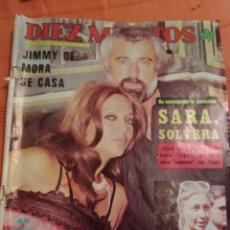 Coleccionismo de Revista Diez Minutos: REVISTA DIEZ MINUTOS Nº 1363 AÑO 1977. Lote 175366350