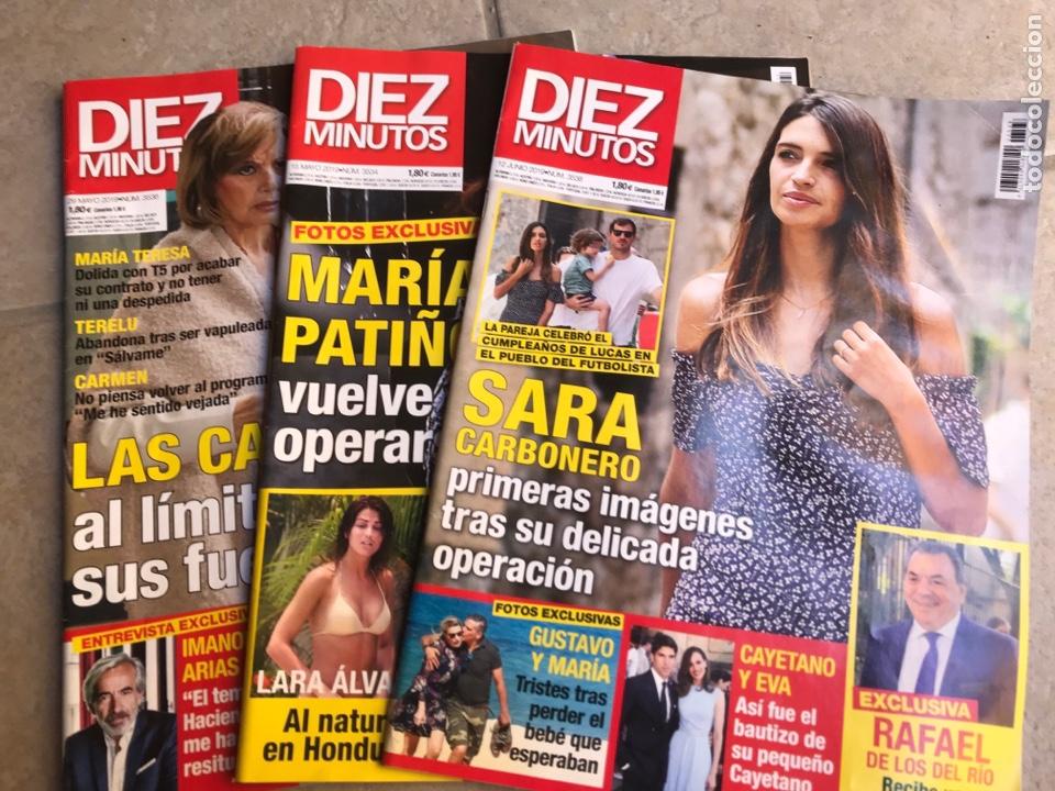 REVISTAS DIEZ MINUTOS 2019 (Coleccionismo - Revistas y Periódicos Modernos (a partir de 1.940) - Revista Diez Minutos)