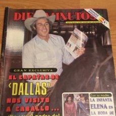Coleccionismo de Revista Diez Minutos: DIEZ MINUTOS- 1597 PÓSTER MUNDIAL 82. Lote 176499580