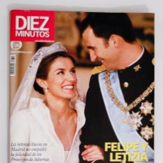 Coleccionismo de Revista Diez Minutos: DIEZ MINUTOS - LA BODA DEL SIGLO. Lote 178072675