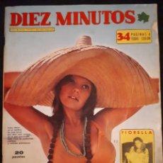 Coleccionismo de Revista Diez Minutos: DIEZ MINUTOS Nº 1151. FIORELLA FALTOYANO, FERNANDO REY, LIV ULLMANN, POSTER ANTHONY QUEEN.. Lote 178170621