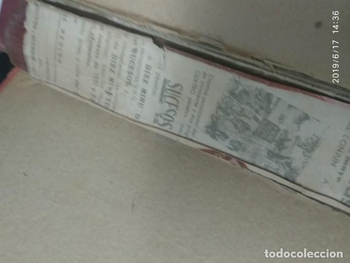 Coleccionismo de Revista Diez Minutos: ANUARIO DE LA REVISTA DIEZ MINUTOS 1953, VALIA 1ptas Tapa suelta por el canto, la tapa de atrás est - Foto 4 - 178252586