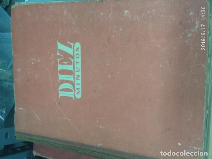 Coleccionismo de Revista Diez Minutos: ANUARIO DE LA REVISTA DIEZ MINUTOS 1953, VALIA 1ptas Tapa suelta por el canto, la tapa de atrás est - Foto 6 - 178252586