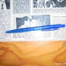Coleccionismo de Revista Diez Minutos: RECORTE : URSULA ANDRESS Y ALBERTO SORDI. DIEZ MINUTOS, DCMBRE 1973 (). Lote 179028438