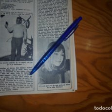 Coleccionismo de Revista Diez Minutos: RECORTE : MARISOL. DIEZ MINUTOS, JULIO 1973 (). Lote 179091495