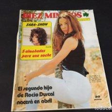 Coleccionismo de Revista Diez Minutos: DIEZ MINUTOS 1973 SARA MONTIEL ROCIO DURCAL JURADO PALOMA HURTADO LUIS AGUILE LILIAN DE CELIS . Lote 179344397