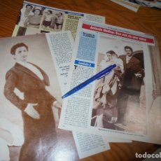 Coleccionismo de Revista Diez Minutos: RECORTE : ANTONIO MOLINA : ESA VOZ ES UNA MINA. DIEZ MINUTOS, ABRIL 1992 (). Lote 179397135