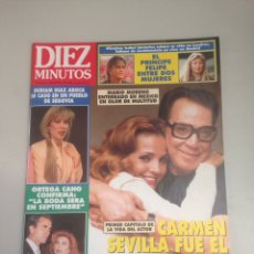 Coleccionismo de Revista Diez Minutos: REVISTA DIEZ MINUTOS. Lote 180034706