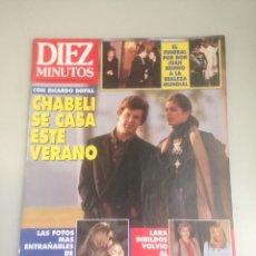 Coleccionismo de Revista Diez Minutos: REVISTA DIEZ MINUTOS. Lote 180034782